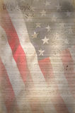 US Flag. As patriotic background Stock Image