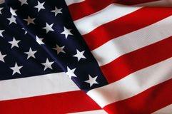 US Flag. As patriotic background Royalty Free Stock Images