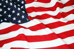 US Flag. As patriotic background Stock Images