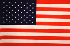 US Flag. A photo of the US flag Royalty Free Stock Photos