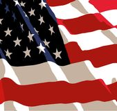 US Flag Royalty Free Stock Photo