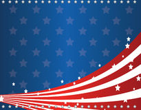 Us flag. Design including stars, strips and flag symbol of america Royalty Free Stock Image