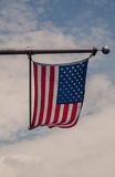 US flag against sky Royalty Free Stock Photo