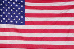 US flag as background Stock Images