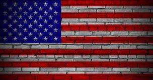 US Flag. Stock Photo