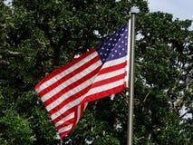 US Flag. At Doris ranch royalty free stock photos