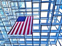 US flag Royalty Free Stock Images