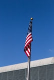 Us flag in Miami Airport Royalty Free Stock Photos