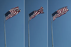 US Flags royalty free stock images