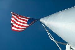 Free US Flag On Pole Stock Photography - 7705192