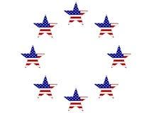 US Flag Stars Stock Images