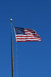 US flag waving royalty free stock photography