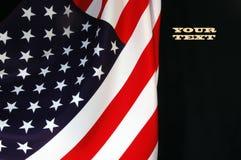 Us-flagga Arkivfoto