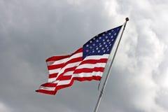 Us-flagga Arkivbilder