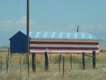 US-Flaggen-Lager Stockbilder