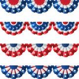 US-Flaggendekoration Lizenzfreie Stockbilder