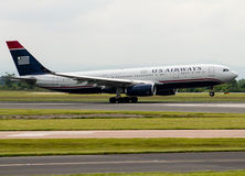 US-Fluglinien Airbus A330 Stockfoto