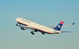 US-Fluglinien Airbus A330 Stockfotos