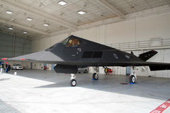 Us-flygvapen F-117 Royaltyfria Foton