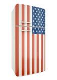 US fridge Stock Photo