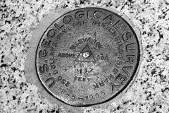 US Geological Survey marker Stock Photo