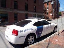 US-Gewohnheits-und -grenzschutz-Feld-Operations-Auto parkte auf t Lizenzfreies Stockbild
