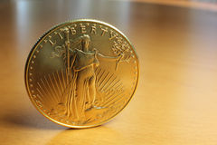 US Gold Double Eagle Coin Royalty Free Stock Images