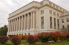 US government building. A view of the US government building housing the  Department of Agriculture in Washington, DC Stock Photography