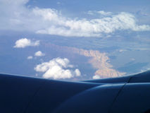 US Grand Canyon von der Luft Lizenzfreie Stockfotografie