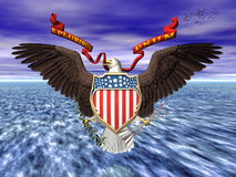 Us great seall, pride and freedom. Royalty Free Stock Photos