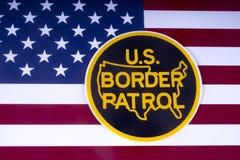 US-Grenzschutz Stockfotos