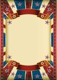 US grunge frame Stock Image