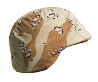 US Gulf War Helmet Royalty Free Stock Photo