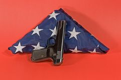 Us guns Stock Photography