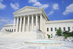 US-Höchstes Gericht Stockbild