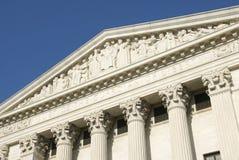 US-Höchstes Gericht - Gerechtigkeit Stockfoto