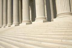 US-Höchstes Gericht - Jobstepps Lizenzfreie Stockbilder