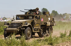 US half track Stock Photo