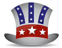 US hat illustration. Design isolated over a white background Royalty Free Stock Photo