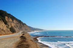 US Highway One in California Royalty Free Stock Photography