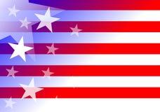 US-Hintergrund stock abbildung