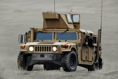 US HMMWV (Humvee) fighting machine Royalty Free Stock Photography
