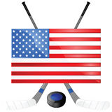 US hockey Royalty Free Stock Image