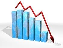 Us housing market. Symbol of U.S houing market Royalty Free Stock Image