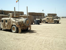 US Humvee`s Royalty Free Stock Image