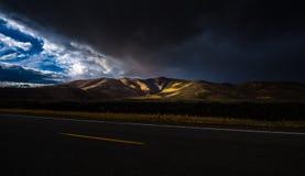 US 20 Idaho Cratets of the Moon Royalty Free Stock Image