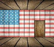 US Immigration Background Royalty Free Stock Images
