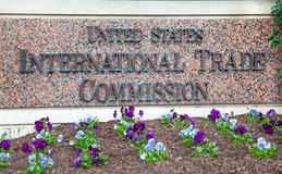 US International Trade Commission ITC Washington DC. US International Trade Commission ITC in Washington DC.  US International Trade Commission is a US Trade Stock Images