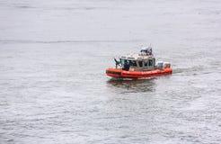 US-Küstenwache Patrol Boat Lizenzfreies Stockfoto