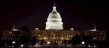 US-Kapital nachts Stockfotografie